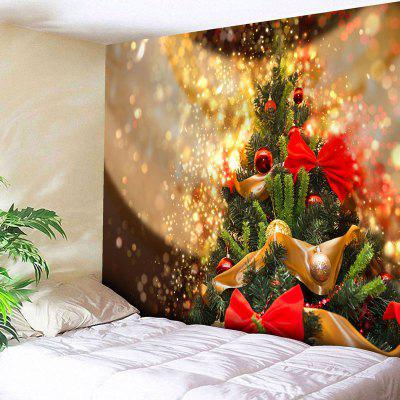 Wall Art Christmas Tree Print Tapestry