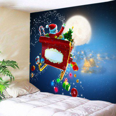 Wall Hanging Art Christmas Santa Gifts Print Tapestry