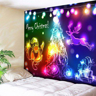 Wall Decor Christmas Graphic Tapestry