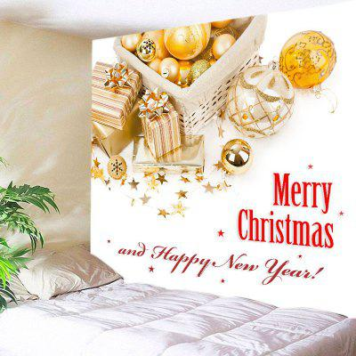 Wall Hanging Art Merry Christmas Print Tapestry