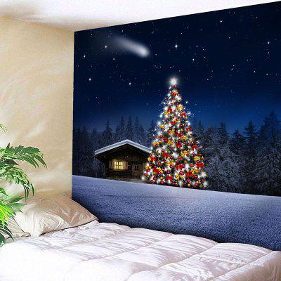 Christmas Tree Print Wall Art Tapestry