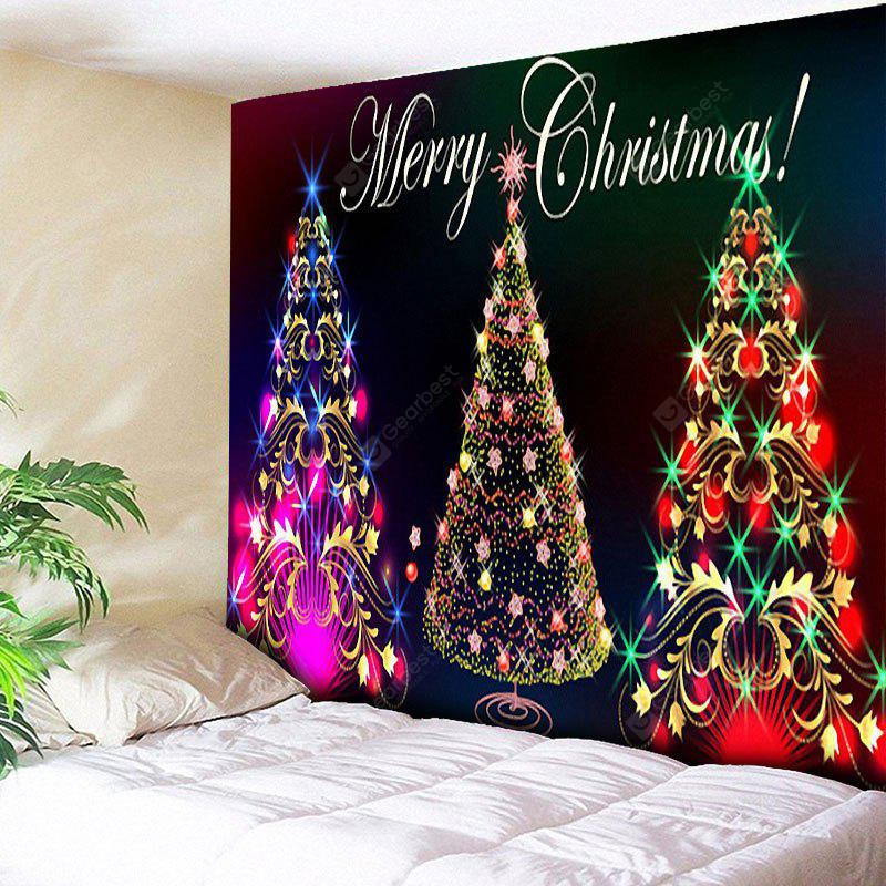 Wall Hanging Christmas Tree Print Tapestry