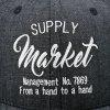 Outdoor Letters Embroidery Baseball Hat - BLACK