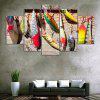 Fishing Bait Print Unframed Canvas Split Paintings - COLORMIX