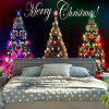 Wall Hanging Christmas Tree Print Tapestry - COLORFUL