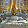 Wall Decor Christmas Graphic Bedroom Tapestry - COLORMIX