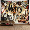 Merry Christmas Graphic Wall Tapestry - COLORMIX