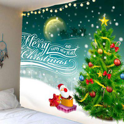Christmas Graphic Pattern Wall Hanging Tapestry