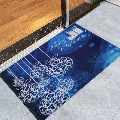 Merry Christmas Graphic Skidproof Bath Rug