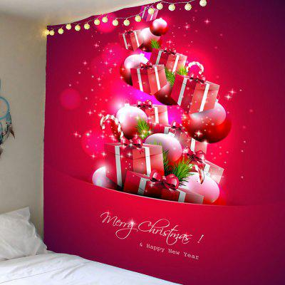 Christmas Present Pattern Wall Hanging Tapestry