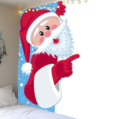 Waterproof Santa Claus Printed Wall Decor Tapestry