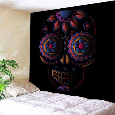 Wall Art Skull Print Bedroom Tapestry