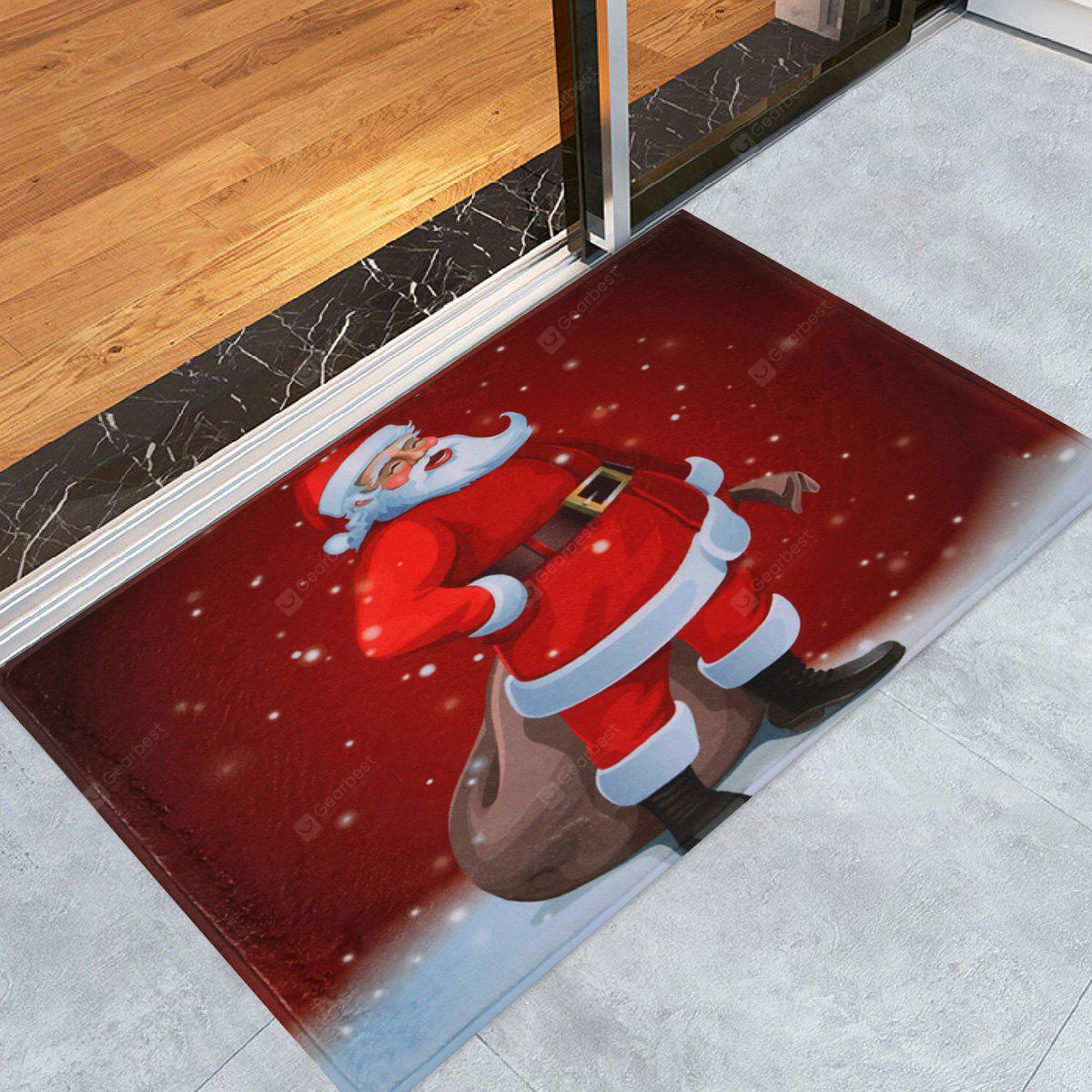 Santa Claus Christmas Graphic Antiskid Area Rug