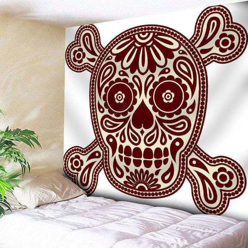 Skull Pattern Wall Art Tapestry