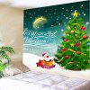 Christmas Graphic Pattern Wall Hanging Tapestry - COLORFUL
