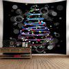 Colorful Stars Pattern Waterproof Christmas Wall Hanging Tapestry - COLORFUL