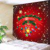 Christmas Balloons Printed Wall Hanging Tapestry - COLORFUL