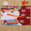 Christmas Snowman Pattern Water Absorption Area Rug - COLORMIX