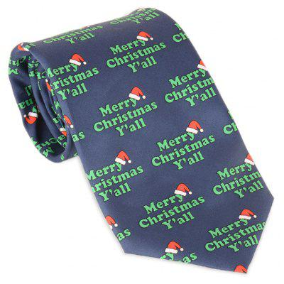 Merry Christmas Y'all Allover Tie