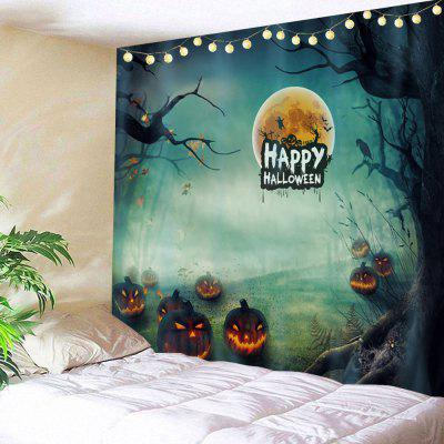 Buy COLORMIX Happy Halloween Pattern Wall Tapestry for $19.31 in GearBest store