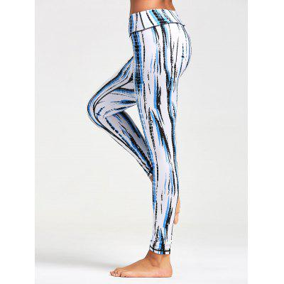 Ombre Printed Tight Leggings