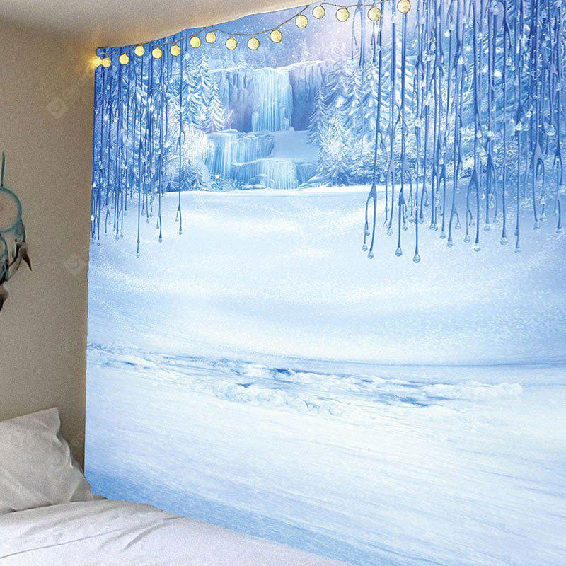 Glacier Printed Waterproof Wall Hanging Tapestry
