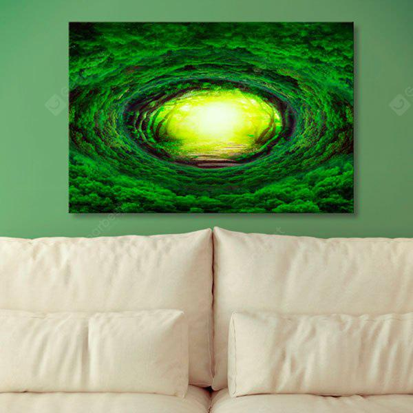 Tree Hole Print Wall Art Canvas Painting