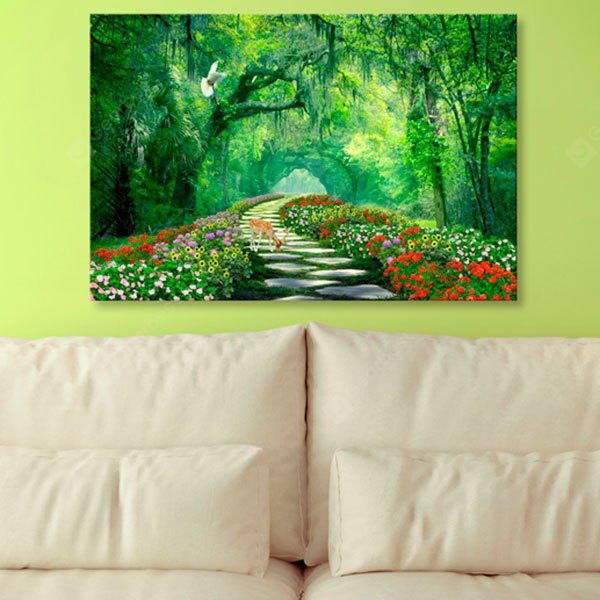 Forest Path Print Wall Art Canvas Painting