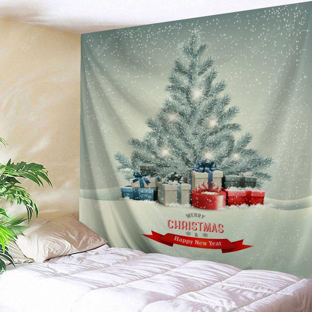 Christmas Cedar Print Wall Decor Tapestry