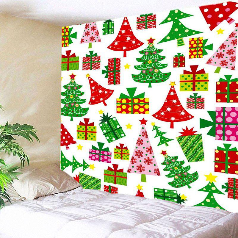 Wall Hanging Art Cartoon Christmas Gifts Print Tapestry