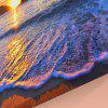 Sunset Beach Print Canvas Wall Art Painting - COLORMIX