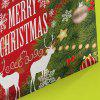 1Pcs Christmas Reindeer Prints Canvas Wall Art Painting - RED