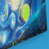 Oil Painting Graphic Wall Art Canvas Prints - BLUE
