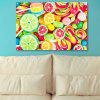 Fruit Sugar Print Canvas Wall Art Painting - COLORFUL