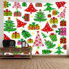 Wall Hanging Art Cartoon Christmas Gifts Print Tapestry - COLORMIX