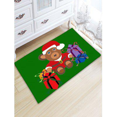 Christmas Beer Gift Thickening Flannel Area Rug