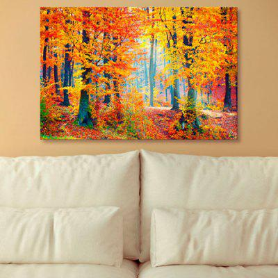 Forest Tree Scenery Print Canvas Wall Art Painting