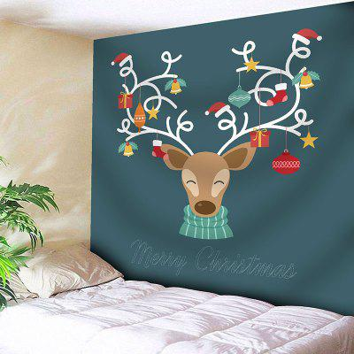 Wall Decor Christmas Deer Tapestry