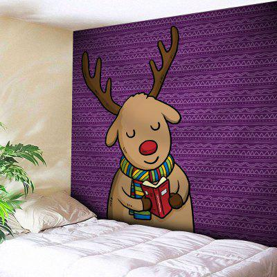 Christmas Deer Wall Hanging Bedroom Tapestry