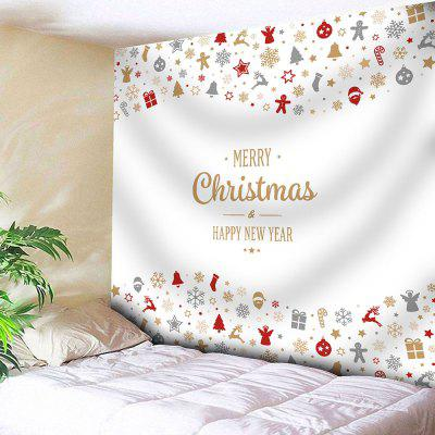 Christmas Printed Wall Hanging Tapestry