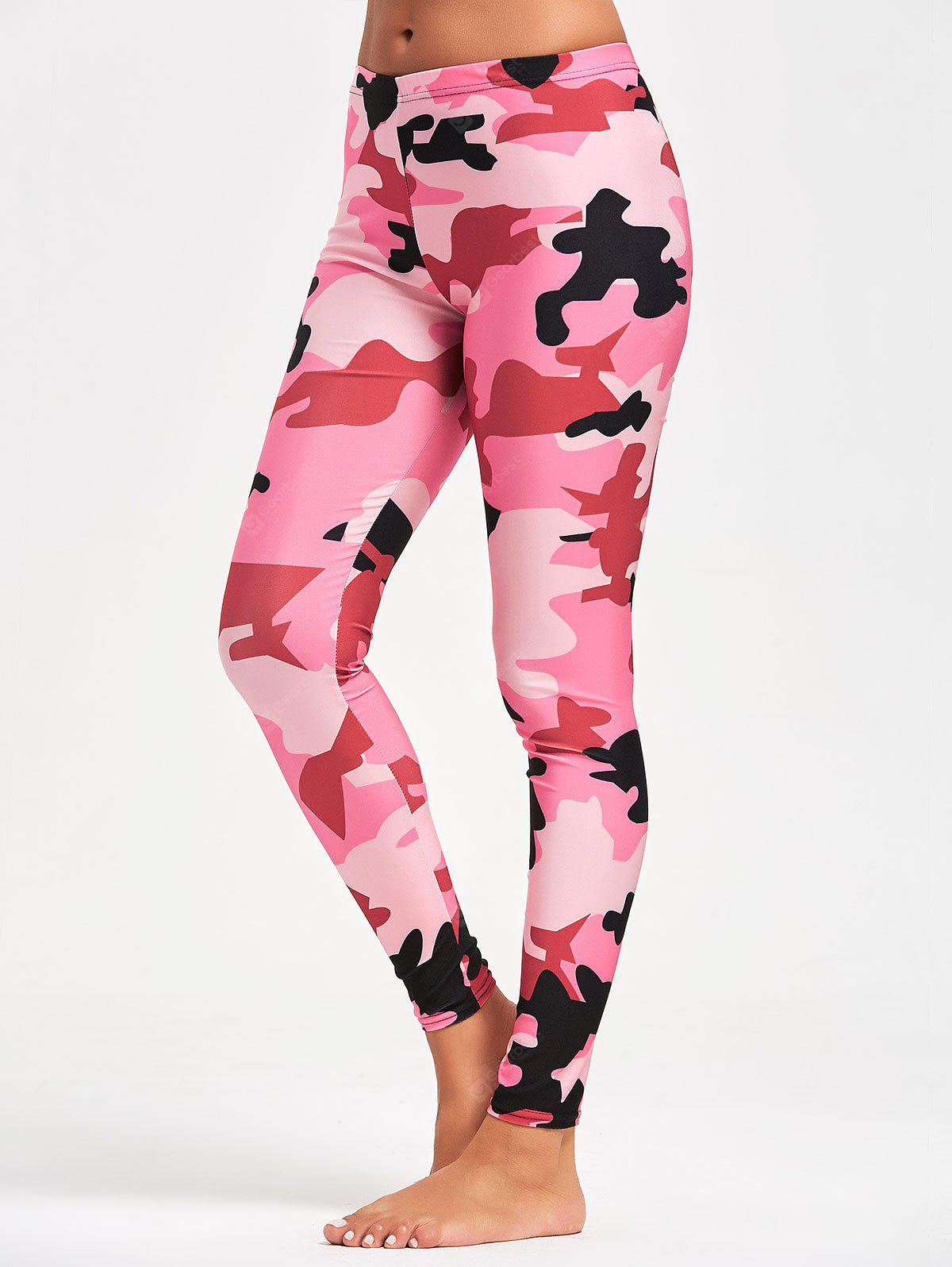 Camo Pattern Workout Tights