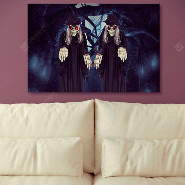 Halloween Zombies Print Canvas Wall Art Painting