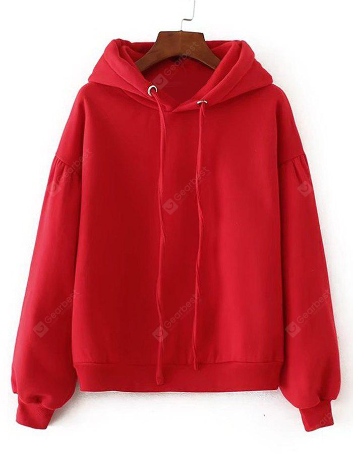 Oversized Padded Casual Hoodie