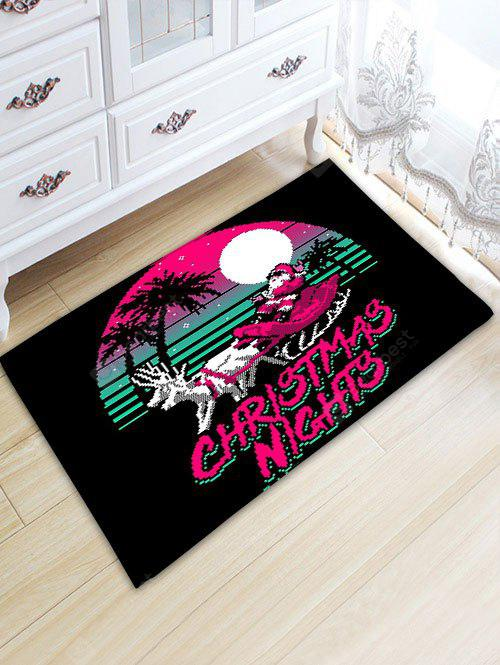 Santa Claus Christmas Thickening Bathroom Rug