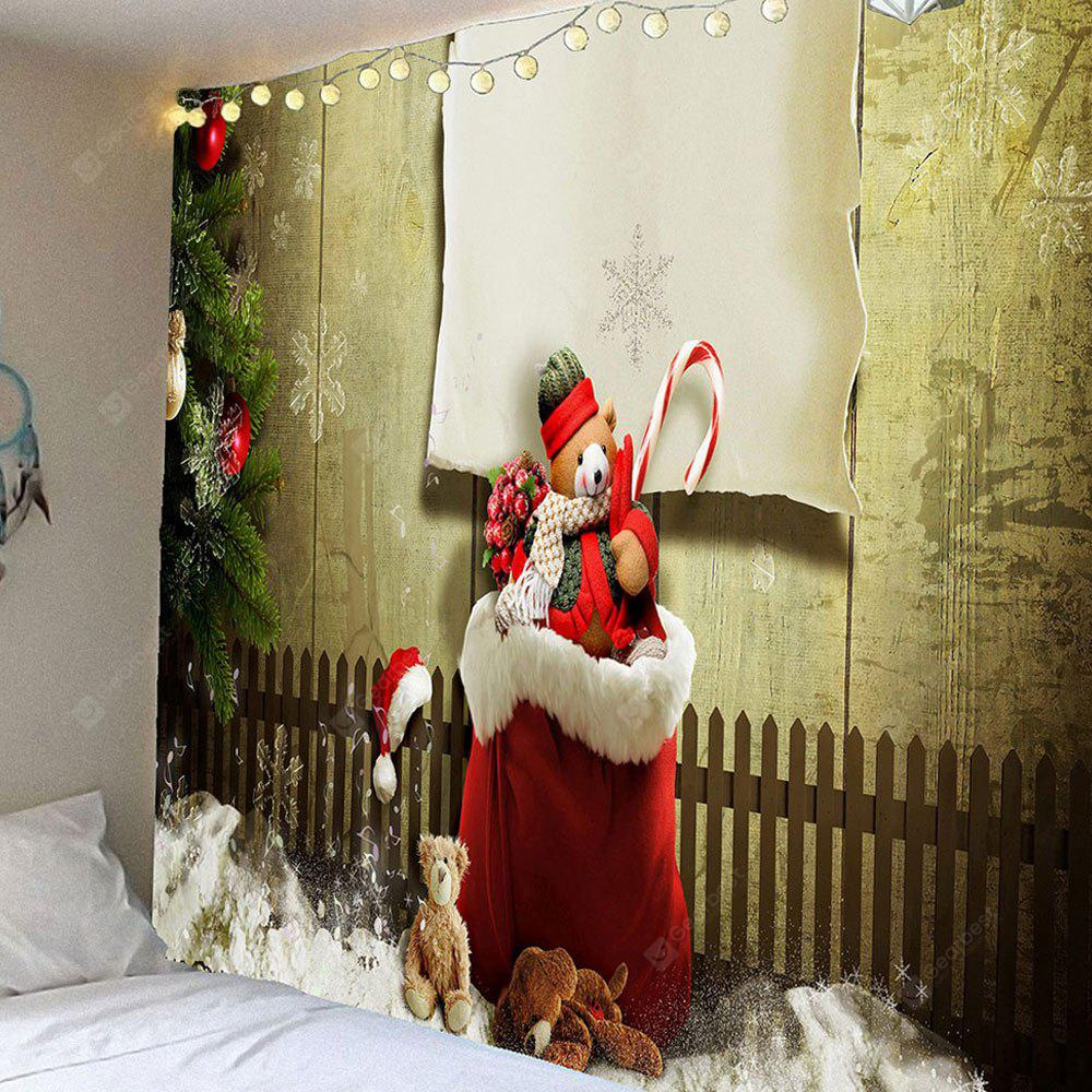 Christmas Socks With Gifts Waterproof Wall Tapestry