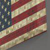 Mosaic American Flag Print Wall Art Canvas Painting - US FLAG