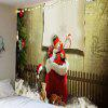 Christmas Socks With Gifts Waterproof Wall Tapestry - COLORFUL