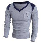 Buy GRAY, Apparel, Men's Clothing, Men's Sweaters & Cardigans for $10.30 in GearBest store
