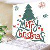 Merry Christmas Letters Pattern Waterproof Wall Hanging Tapestry - COLORFUL