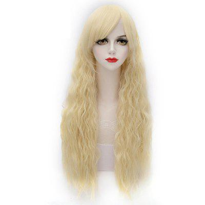 Fashion Oblique Bang Lolita Wavy Synthetic Wig For Women